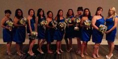 12 bridesmaids