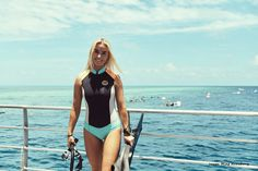 """Billabong X Summersite: Whitsundays; Little Hidden Gems  BRINKLEY DAVIES, A SEAPLANE, WHITSUNDAYS AND SUMMERSITE  You can see almost all of the 74 archipelagos that make up the islands, the water is so clear and you can see all these little hidden gems of beaches. Water baby and marine biologist Brinkley Davies joined us for our Summersite Whitsunday Odyssey to dive the Barrier Reef and explore these """"hidden gems"""" throughout the Whitsundays."""