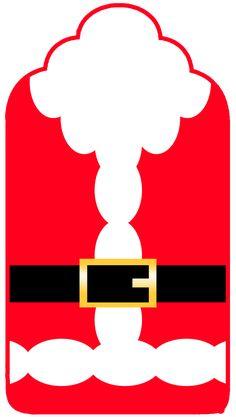 Santa Claus: Imprimibles Gratis para Fiestas y Cajas para Imprimir Gratis.