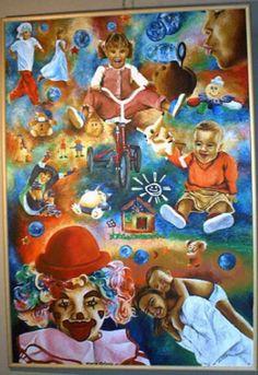 """Giochi, scherzi e pagliacciate"" . Marco Antonio Aguilar Fernández. Regla. Ciudad Habana. Cuba"