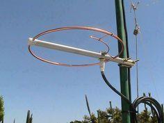 ANTENA HALO Construcción de una antena Omnidireccional de polarización horizontal de 144 MHz a bajo costo http://www.qsl.net/kp4md/144_mhz_halo.htm
