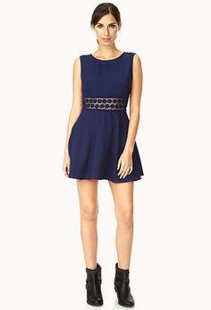 Ladylike A-Line Dress | FOREVER 21 - 2000109726