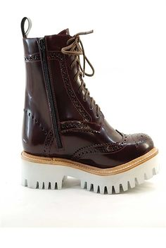 Jeffrey Campbell Clash Boot Burgundy