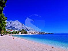 BAŠKA VODA - Ikovac Riviera Beach, Montenegro, Beaches, Places To Go, Road Trip, Heart, Water, Outdoor, Gripe Water