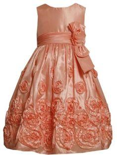 Bonnie Jean Girls 7-16 Taffeta Dress