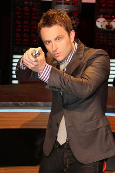 Chris Hardwick - I really love this guy! It may or may not have something to do with my love for the Walking Dead!