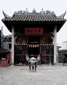 Na Tcha Temple Macau. no disrespect intended but this must be where you go to pray before you visit the casinos :))