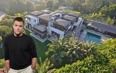 Matt Damon's  $15M Purchase Pacific Palisades, California  - Celebrity Real Estate - Curbed National