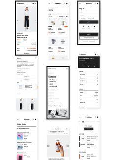 브랜드에 온라인 샵을 더하다 CJ ENM Shop+ | Works | Practical UX VinylC Design Ios, Mobile Ui Design, Travel Design, Wireframe, Design Thinking Process, Mobile App, Ecommerce, Tattoo Quotes, Ios App