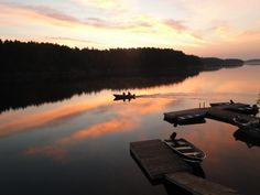 Sunrise...Woolsley Bay, French River, Ontario, Canada