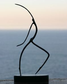 Walking I Bronze Figurine