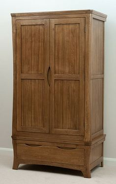 The Orrick Rustic Solid Oak Double Wardrobe is as stylish as it is practical, with its blend of traditional and rustic design. Rustic Sideboard, Large Sideboard, Oak Sideboard, Solid Oak Wardrobe, Double Wardrobe, Oak Furniture Land, Bedroom Furniture, Narrow Staircase, Large Drawers