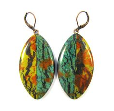Polymer Clay Earrings  Fabulous Faux Collection  by DivaDesignsInc, $24.00