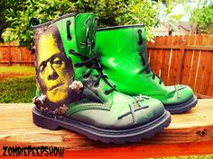 Frankenstein Boots, i want these!