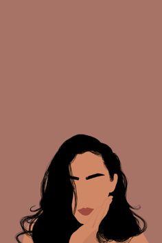 Woman Illustration, Portrait Illustration, Graphic Illustration, Illustrations, Abstract Face Art, Portrait Art, Woman Portrait, Digital Art Girl, Beginner Painting