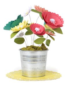 Silhouette Blog: Paper Flowers & Silhouette Studio Shortcuts