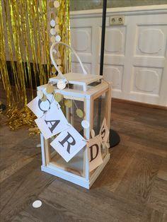 Card Box, Kartenbox Für Die Hochzeit Mit Einer Laterne