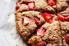 Strawberry Coconut Paleo Scones