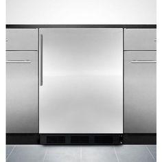 FF1062W - Summit 9.4 Cu. Ft. Frost Free Apartment Refrigerator ...