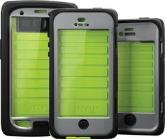 Waterproof Otterboxes...the Armor series and Defender Cases with iOn intelligence!