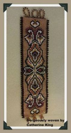 Peyote Stitch Patterns, Bracelet Patterns, Beading Patterns, Peyote Bracelet, Beaded Bracelet, Beadwork Designs, Woven Bracelets, Beading Projects, Brick Stitch
