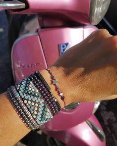 Go with me.somewhere. Beaded Bracelets, How To Wear, Jewelry, Fashion, Moda, Jewlery, Jewerly, Fashion Styles, Pearl Bracelets