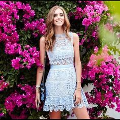 NWT lavender lace dress Brand new with tag lavender lace dress. Gorgeous color and style! Very similar style to the one Maisie Williams wearing on the red carpet! I have one myself and got so many compliments last time I wore at an event! A perfect dress for parties, weddings and special occasions! Love love love Lavender Dresses Mini