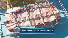 asado costillar a LA CAJA COCINEROS ARGENTINOS SAN ISIDRO Chicken, Meat, Food, Plate, Meals, Recipes, Chefs, Ribs, Grilling