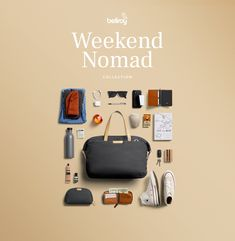 Weekend Nomad Collection. These versatile designs feature relaxed vibes and flexible storage that let you pack, grab and go, for those who let possibility lead the way.  #lifestyle #travel #travelaccessories #globalfashion #outdoortravel #lifestyle Flat Lay Photography, Photography Poses For Men, Edc Essentials, Toys For Boys, Boy Toys, Edc Everyday Carry, What's In Your Bag, Michael Kors Outlet, Burberry Handbags