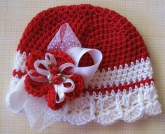 Christmas Delight  Hat  Small by mygirlshats on Etsy, $24.00