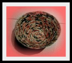 Sew There I was.....: Fabric clothesline bowl