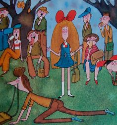 Max and Sally and the Phenomenal Phone Miloš Macourek & Adolf Born Originally published in Czechoslovakia in 1982 English translation by. George Costanza, Vintage Children's Books, Vintage Kids, 90s Childhood, Psychedelic Art, Sally, Modern Art, My Books, Cartoon