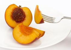Serving Sizes for 18 Fruits and Vegetables: One Whole Peach