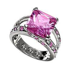 Nicole Farhi pink diamond ring