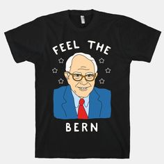 Show off your love for your favorite Democratic presidential candidate - Bernie Sanders - with this hilarious campaign shirt.