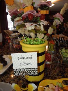 Sandwich Skewer Bouquet