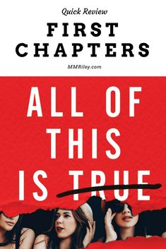 First Chapters - All of This is True - Lygia Day Penaflor #bookreview #youngadult #contemporaryromance #book #ebook #firstchapters Romance Books, Book Reviews, So True, Bibliophile, Anonymous, Nonfiction, Book Worms, Childrens Books, Literature