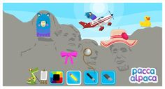 Anything is possible with Pacca Alpaca's Travel Playtime app....