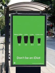 Really, don't be an Idiot