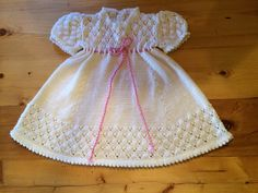 Ravelry: Project Gallery for Rosebud Layette - Dress pattern by Patons Australia