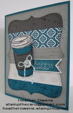 Perfect Blend, Gorgeous Grunge and Banner Greetings from Stampin' Up! : Heather's Blog
