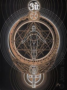 Visionary Artist Joma Sipe's new collection entitled 'Theosophia Geometrica' explores eastern mysticism, kabbalah, magick and sacred geometry in striking detail.