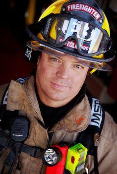 firefighter close up Senior Portraits, Senior Pictures, Senior Pics, Firefighter Photography, Hot Firefighters, Firefighter Apparel, Firefighter Pictures, Business Portrait, Men In Uniform