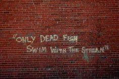 Just keep swimming, just keep swimming...