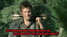 Because Daryl said so