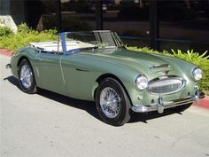Austin Healey 3000 MK II My grandpa designed a kit car recreation of this car (the Classic Roadsters Sebring), so my actual dream car would be one of those. I'm sure Austin Healey would have won my heart over with this car entirely on their own. Just gorgeous!