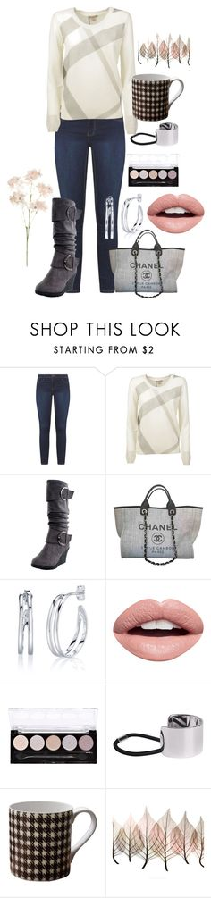 """""""Untitled #173"""" by skylovessave ❤ liked on Polyvore featuring Dorothy Perkins, Burberry, Chanel, Silver Treasures, Nevermind, L.A. Colors, Witchery, William Edwards and Artistica"""