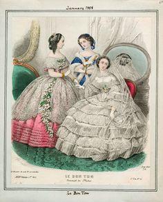 In the Swan's Shadow: Le Bon Ton, January 1858