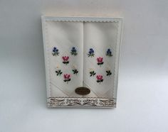 Your place to buy and sell all things handmade Vintage Handkerchiefs, Little Flowers, Something Old, Small Gifts, My Etsy Shop, Wedding Day, Buy And Sell, Cotton, Pink