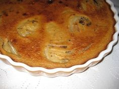 Clafoutis revisité version poire-chocolat